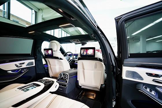MERCEDES-BENZ S 400 D 4MATIC LANg-amg !!! EXKLUSIVE PAKET !!! AMG LINE!! - Markeli-Automobile-München
